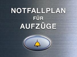 Notfallplan für Aufzüge